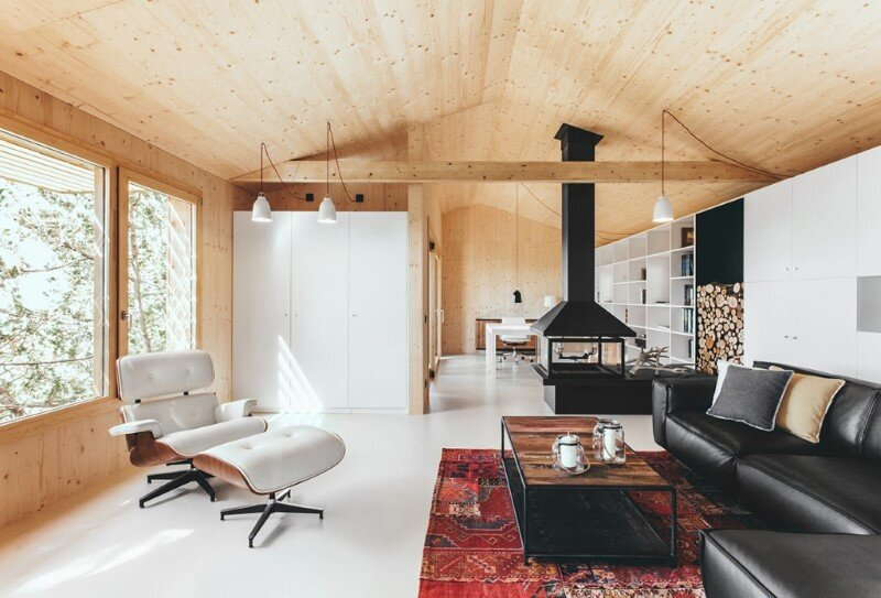 Efficient, prefab, sustainable and passive - Wood Studio House (9)