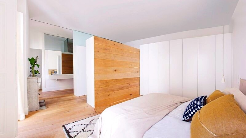 Full reconversion of 213 sq mt old flat in Madrid Ayala House (17)