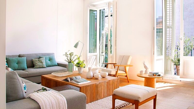Full reconversion of 213 sq mt old flat in Madrid Ayala House (2)