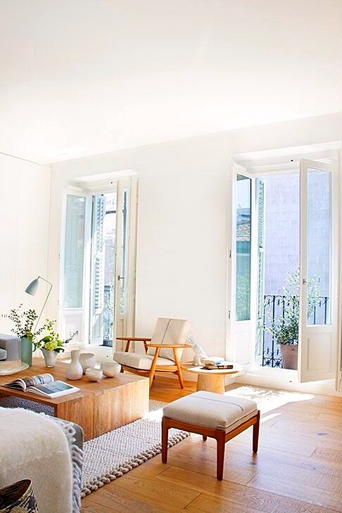 Full reconversion of 213 sq mt old flat in Madrid Ayala House (4)