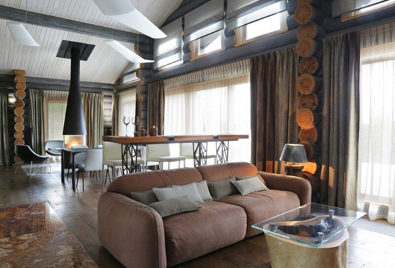 Gorgeous Wooden House with Modern Interiors (9)