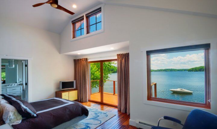 Impressive Not So Big house with spectacular panoramic views Oscawana Lake House (5)