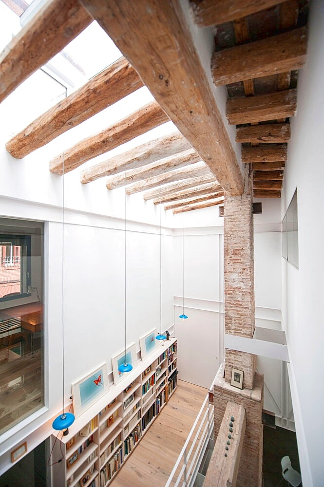 Last Old dairy farm in Barcelona converted in one single house