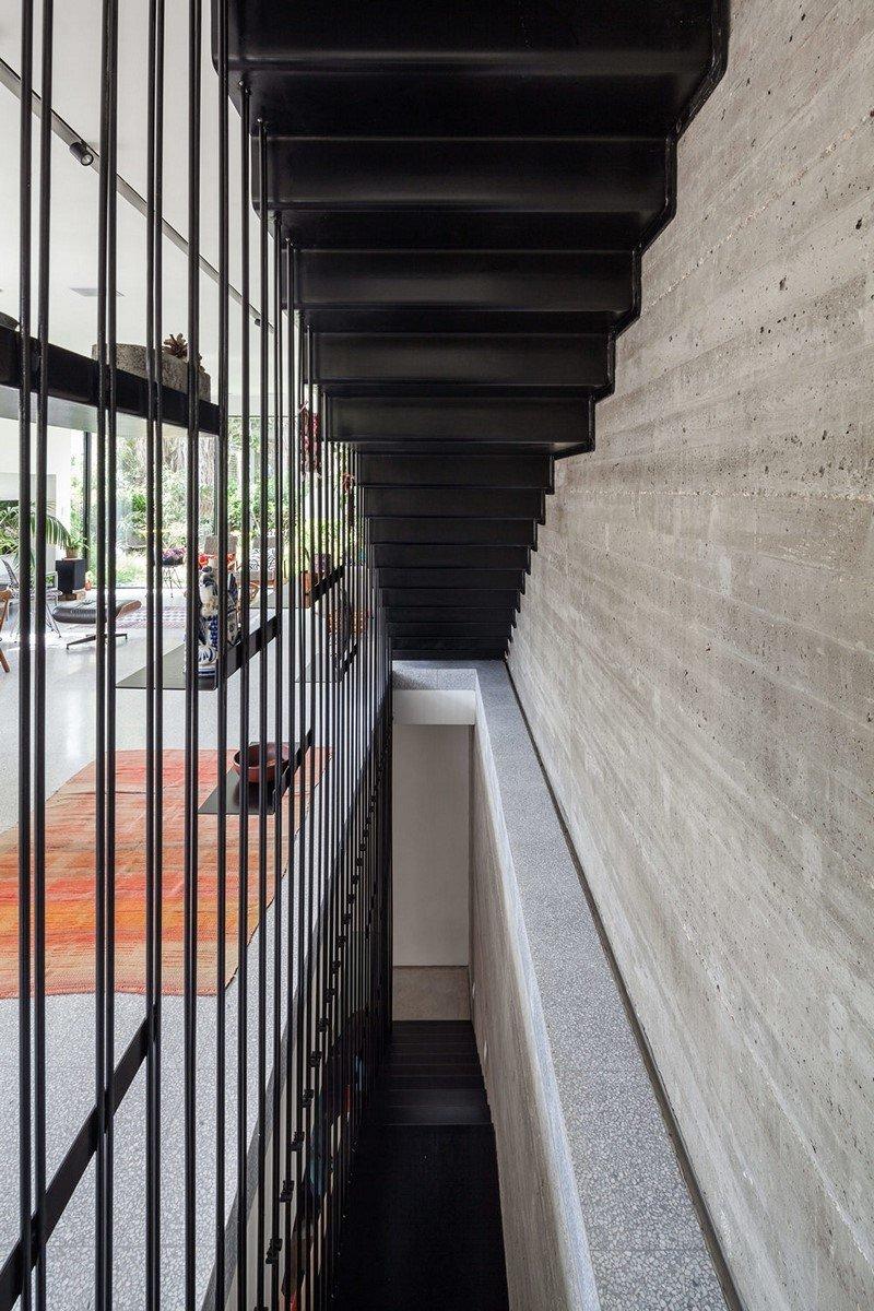 Modern townhouse in Tel Aviv Mendelkern Residence by David Lebenthal (7)