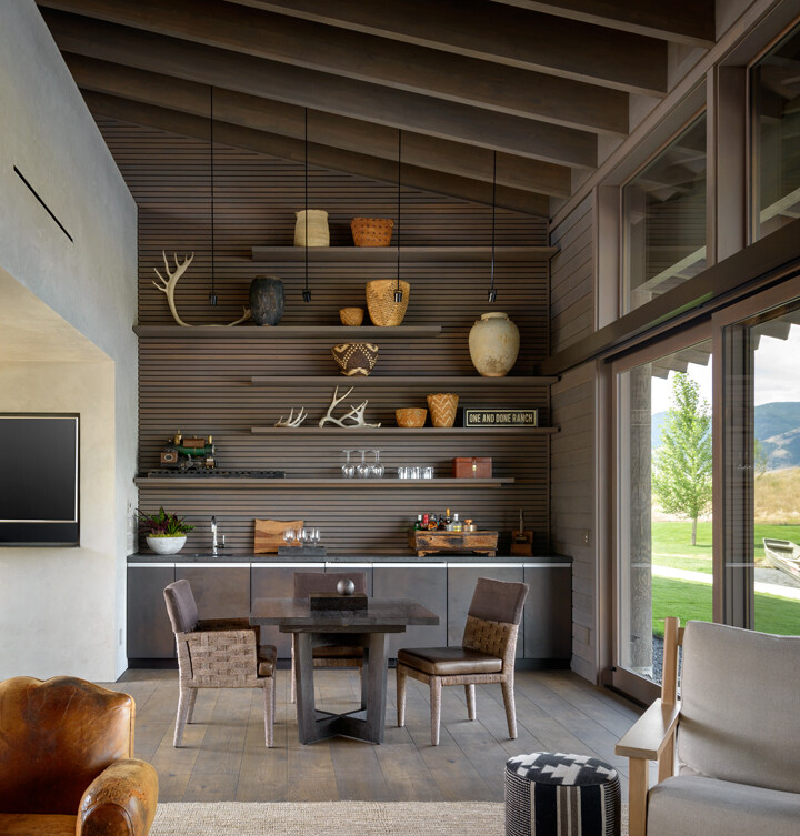 Montana ranch house by suyama peterson deguchi for Montana ranch house