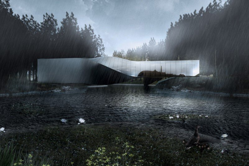 Museum building for Kistefos Sculpture Park - Bjarke Ingels Group   (2)