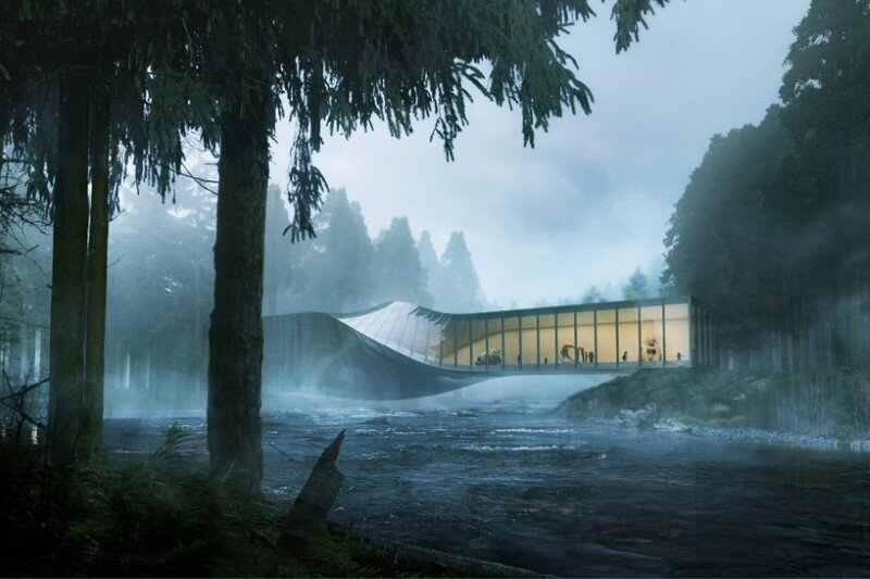 Museum building for Kistefos Sculpture Park - Bjarke Ingels Group   (3)