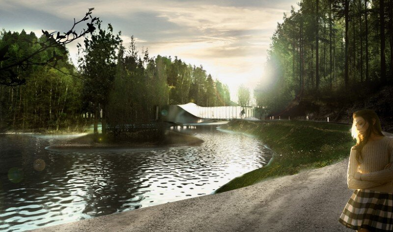 Museum building for Kistefos Sculpture Park - Bjarke Ingels Group   (4)