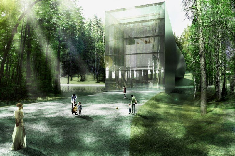 Museum building for Kistefos Sculpture Park - Bjarke Ingels Group   (5)