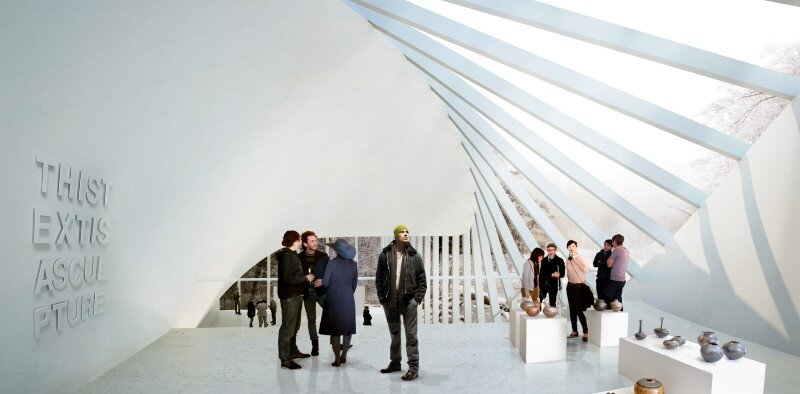 Museum building for Kistefos Sculpture Park - Bjarke Ingels Group  (8)