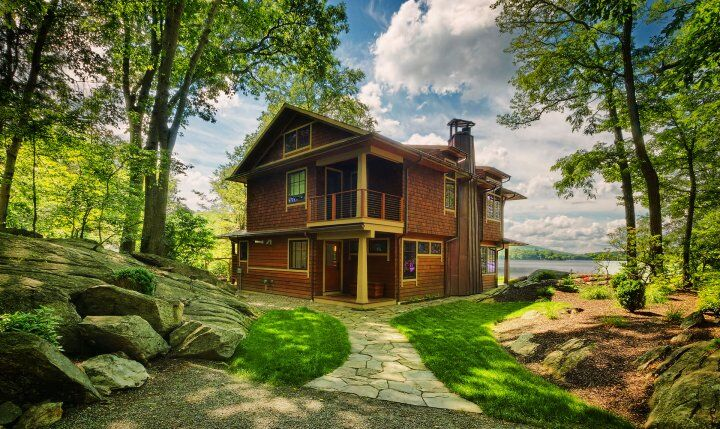 Oscawana Lake House - probably one of the most impressive tiny houses that you've seen (3)