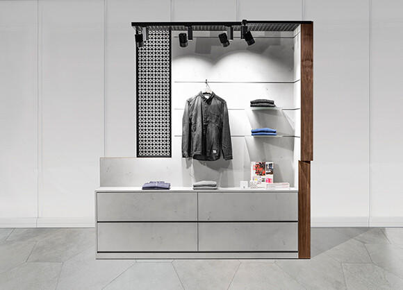 Pop Up Box & Food Corner convertible retail space that offers a customizable presentation area (7)