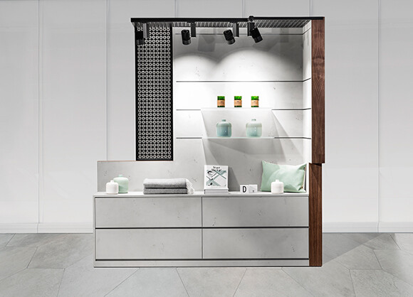Pop Up Box & Food Corner convertible retail space that offers a customizable presentation area (8)