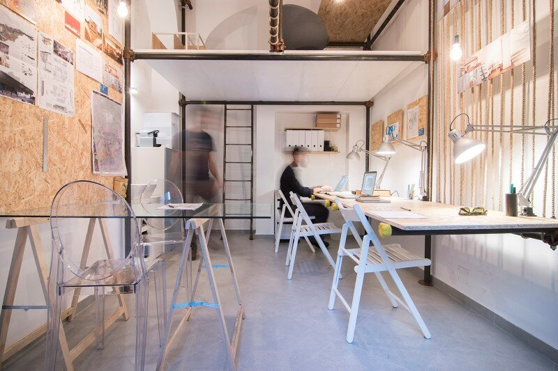 R3architetti Have Transformed a Small Atelier of 14 sqm in Their Own Creating Space (1)
