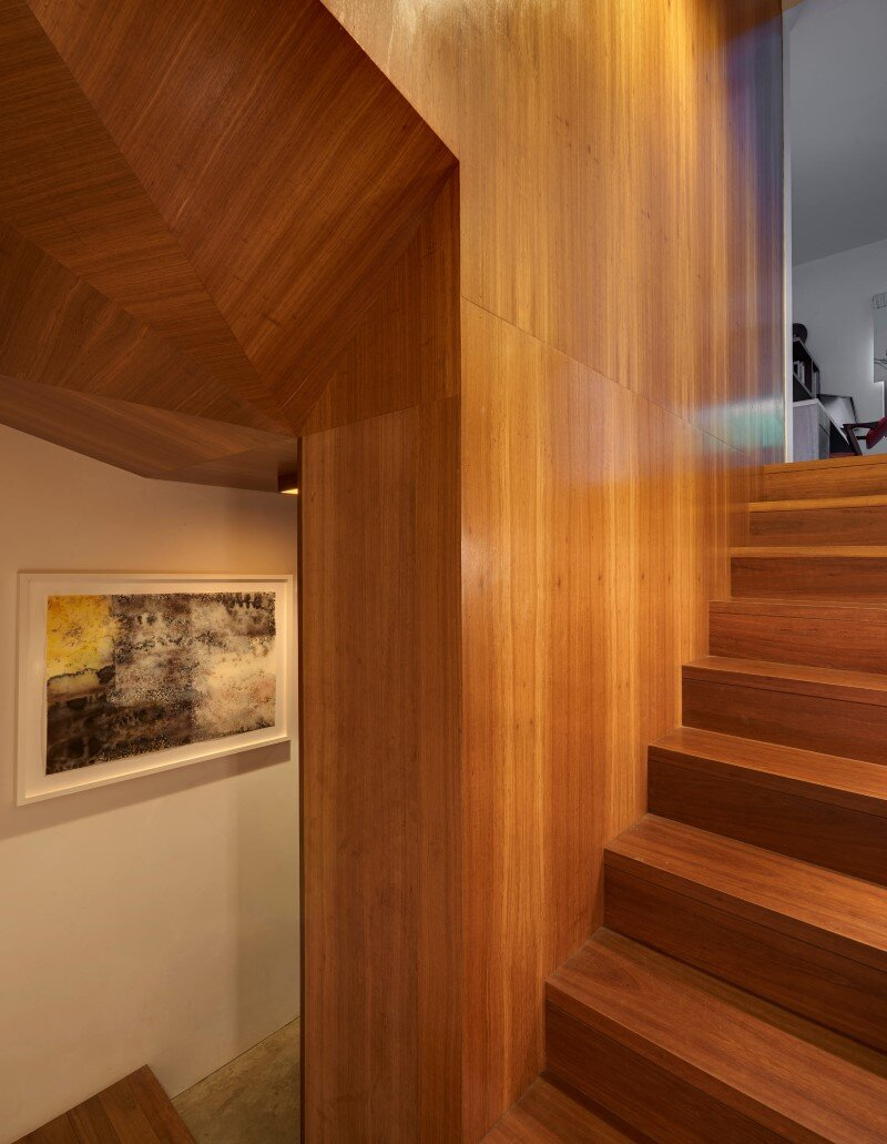 Renovation and an addition to an existing 1930s duplex - Kerridge house + apartment (7)