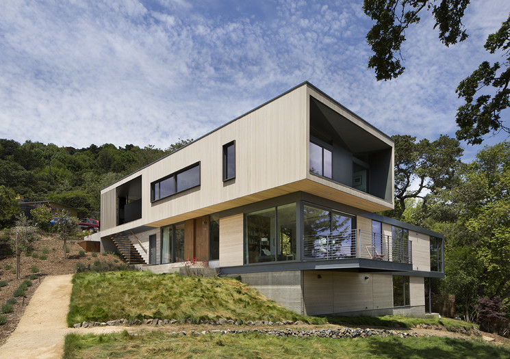 San Anselmo House by Shands Studio - Marin County, California (3)