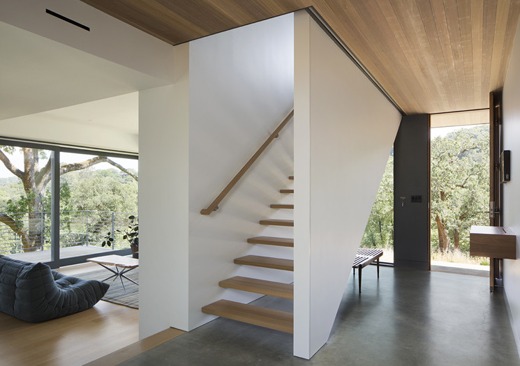 San Anselmo House by Shands Studio - Marin County, California (5)