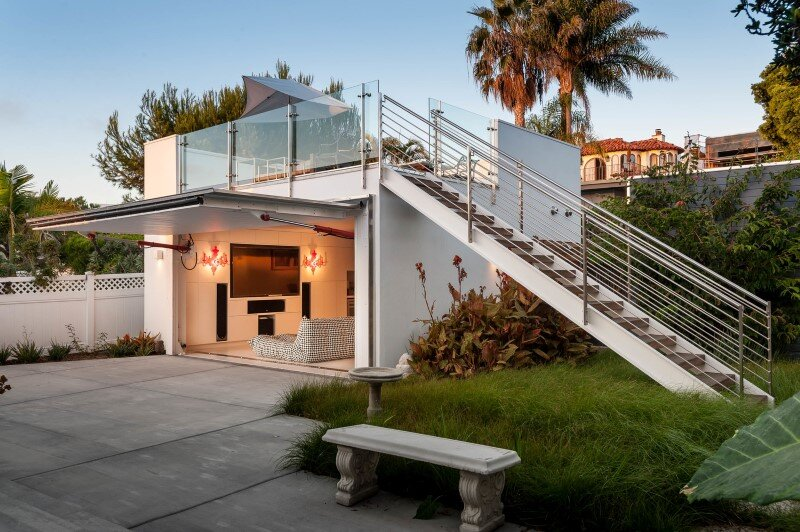 San Diego, California - Reinterpreting a Midcentury Fisherman's Cottage in Bird Rock (23)