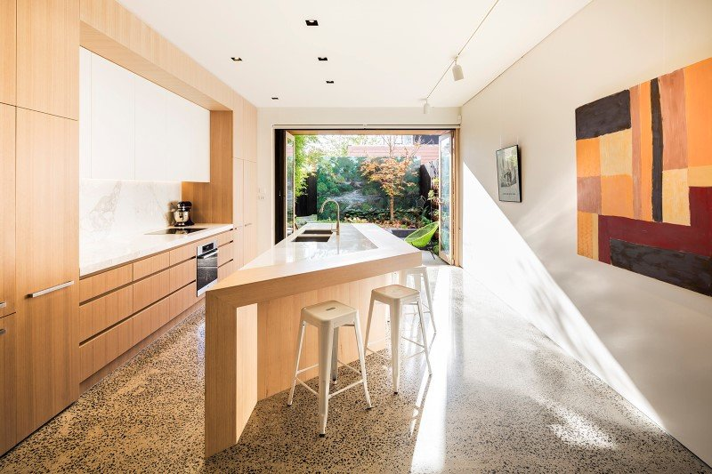 South Melbourne House Refurbishment of an Double Storey Terrace House (10)