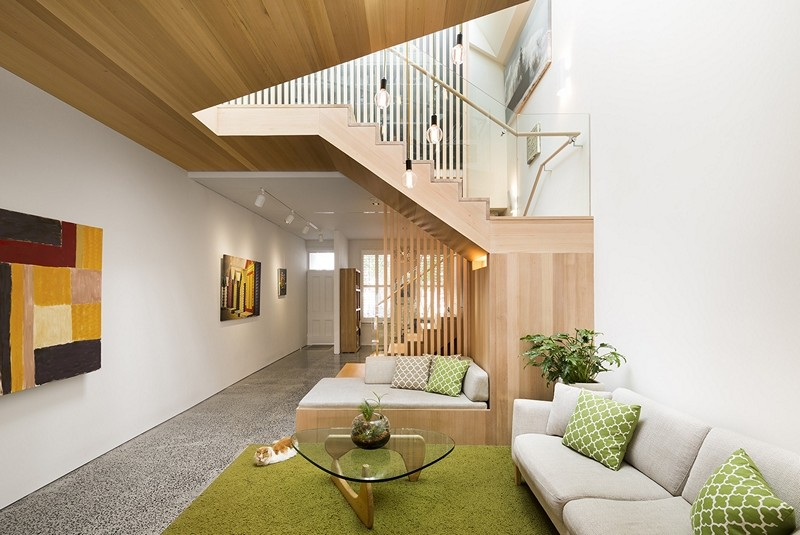 South Melbourne House Refurbishment of an Double Storey Terrace House (7)