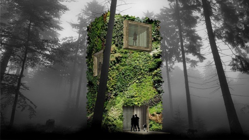 Sustainable Houses Designed as Trees by Oas1s (7)