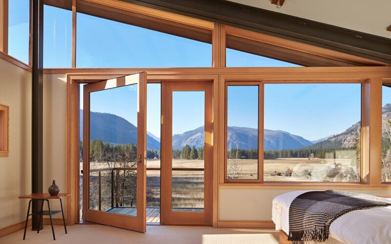 Sustainable mountain house in the Methow Valley of Washington State 12