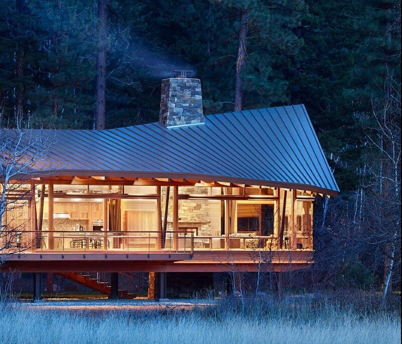 Sustainable mountain house in the Methow Valley of Washington State (23)