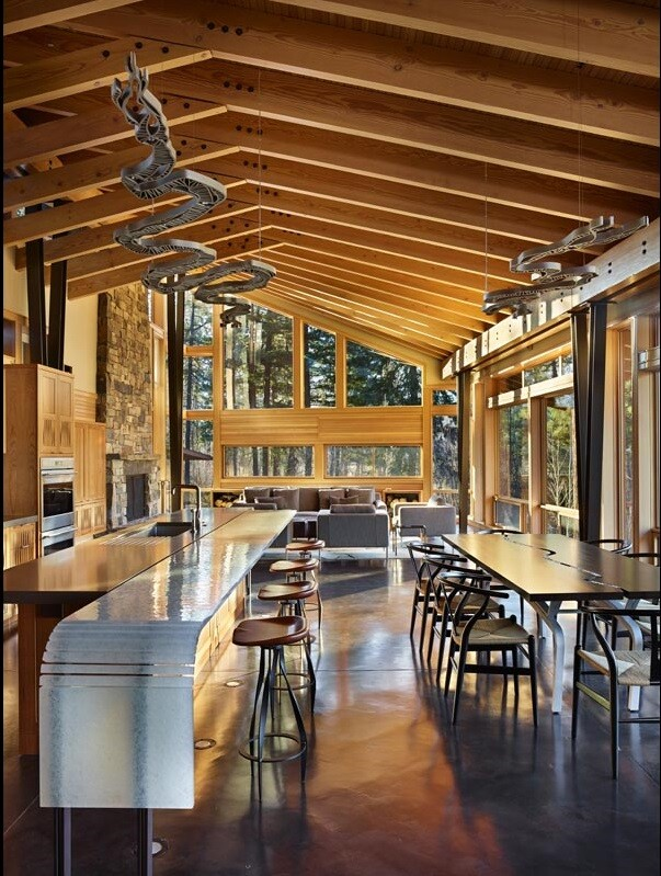 Sustainable mountain house in the Methow Valley of Washington State  7