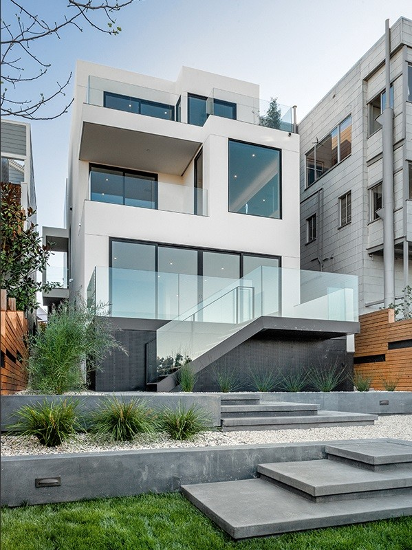 Three-story House by Edmonds + Lee Architects - Cube Residence (13)