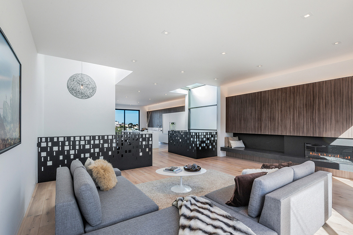 Three-story House by Edmonds + Lee Architects - Cube Residence (4)