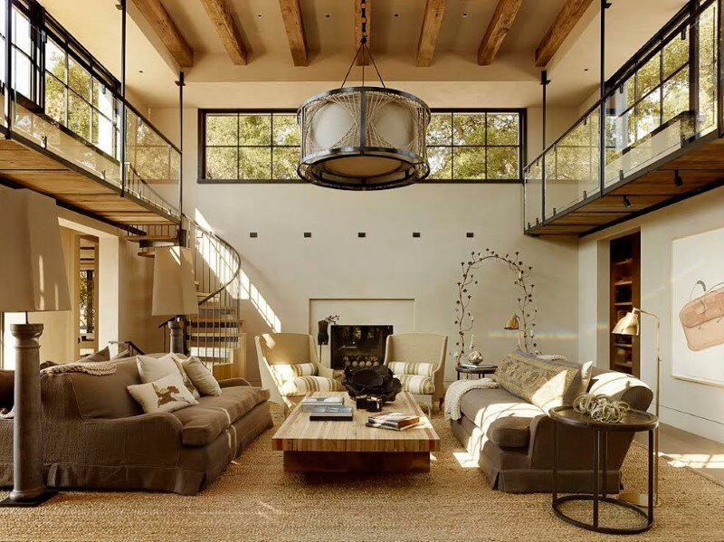 Traditional Tuscan villa transformed into a modern country house (2)