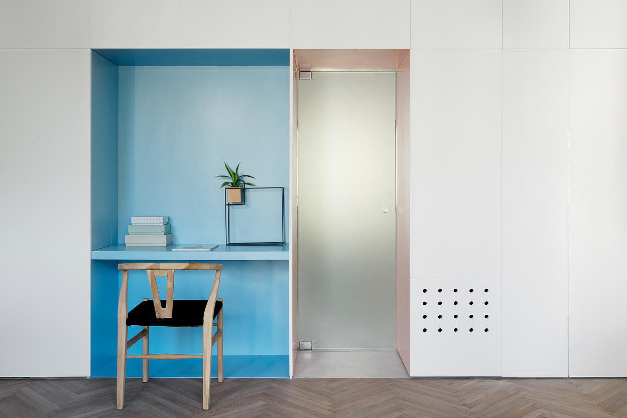 When Color Meets Calm - 55 square meters in Central Tel Aviv (4)