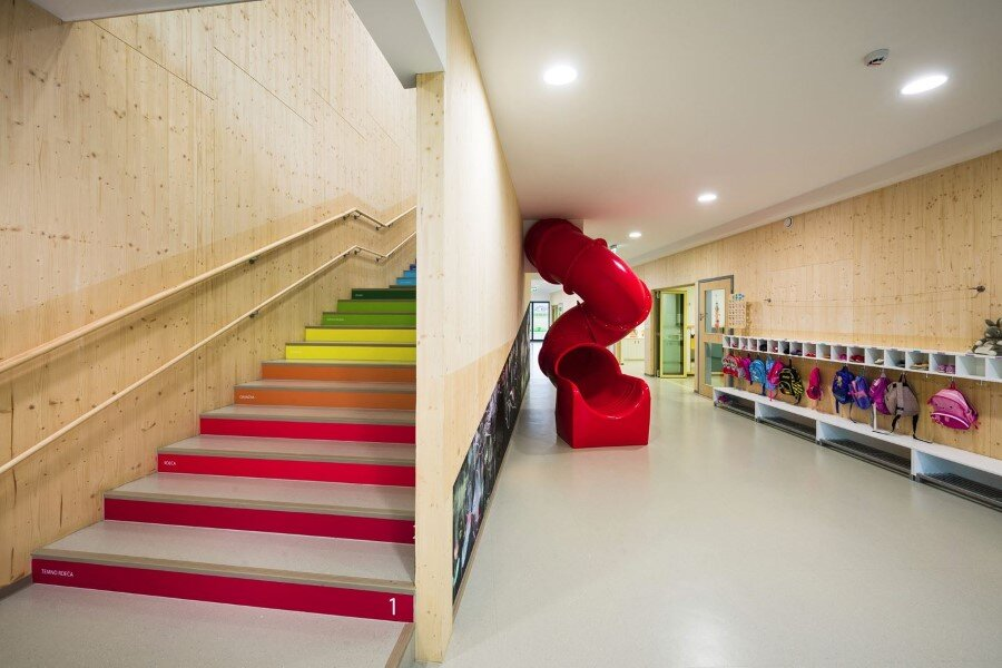 Šmartno Timeshare Kindergarten - Spaces Combined into one Learning Landscape (19)