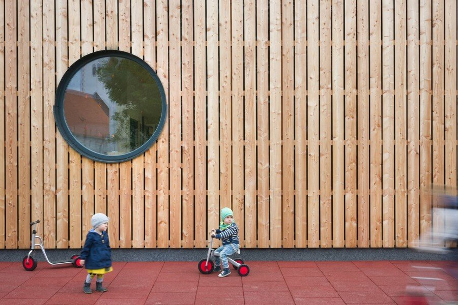 Šmartno Timeshare Kindergarten - Spaces Combined into one Learning Landscape (3)