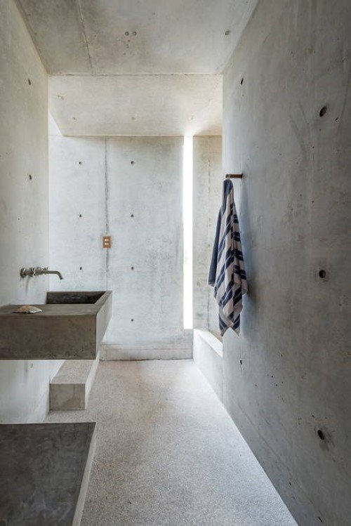 Beautiful Tiny Concrete House with a Minimalist Architecture (2)