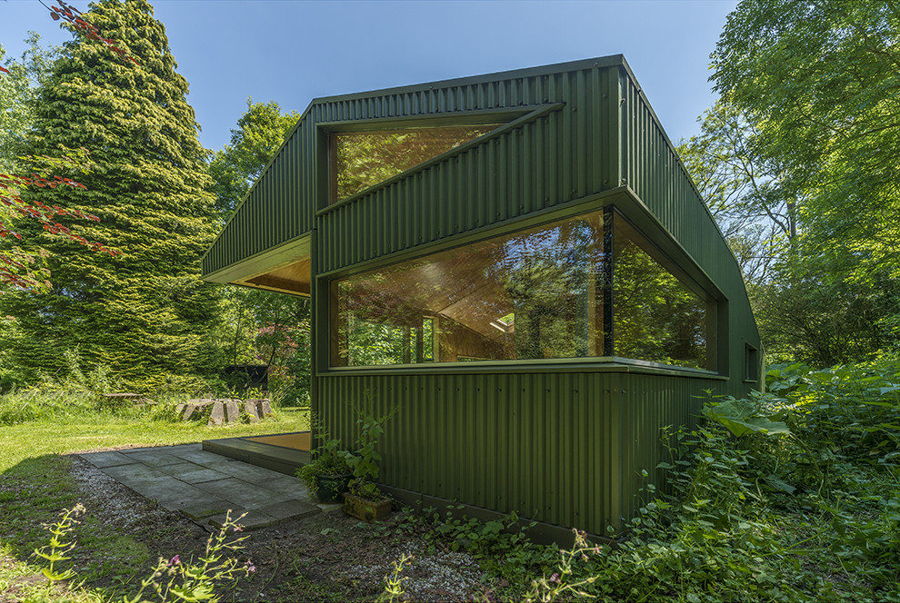 CC-Studio Rebuilt Thoreau Cabin into the Netherlands Noorderpark (2)