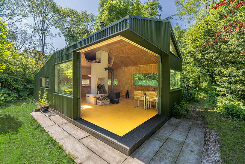 CC-Studio Rebuilt Thoreau Cabin into the Netherlands Noorderpark (6)
