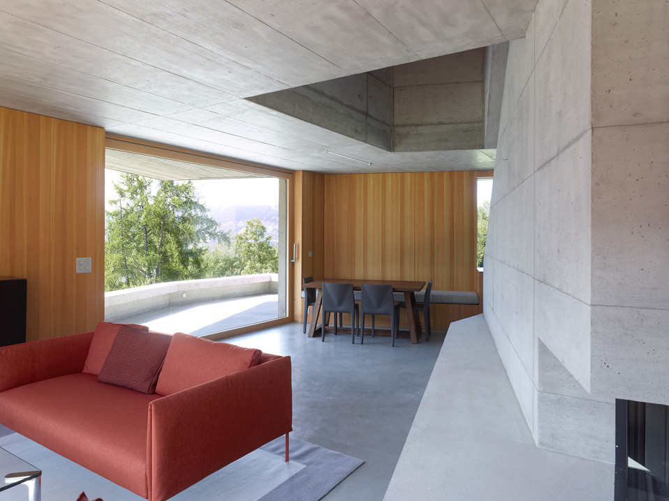 Concrete Cottage Covered with Wood Cladding in the Val d'Hérens (15)