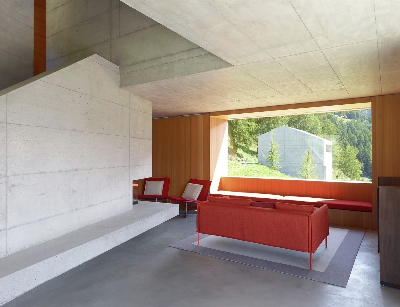 Concrete Cottage Covered with Wood Cladding in the Val d'Hérens (5)