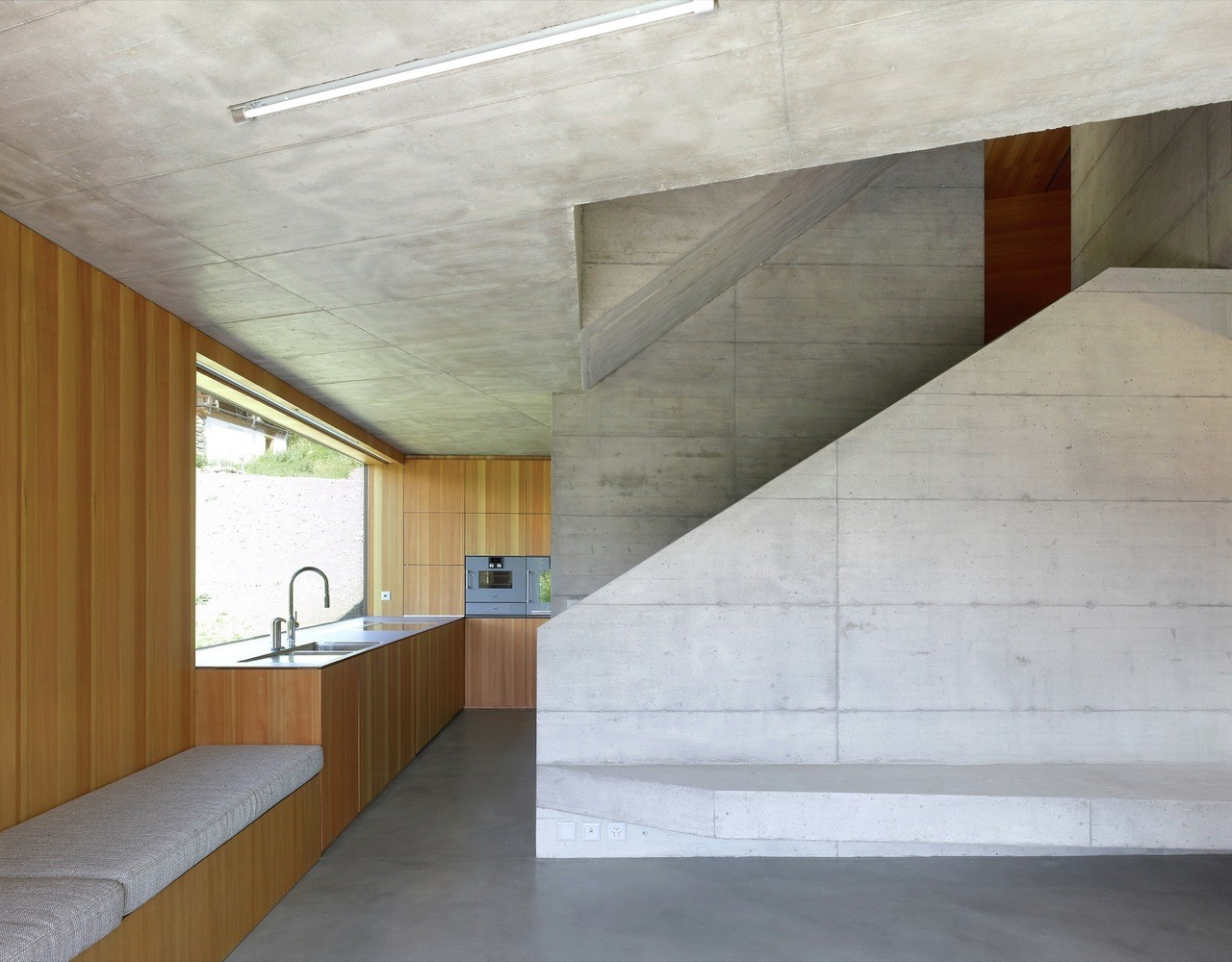 Concrete Cottage Covered with Wood Cladding in the Val d'Hérens (6)