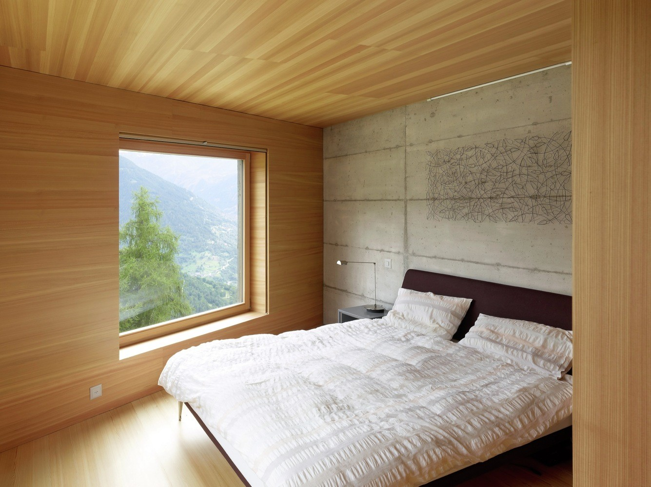 Concrete Cottage Covered with Wood Cladding in the Val d'Hérens (8)