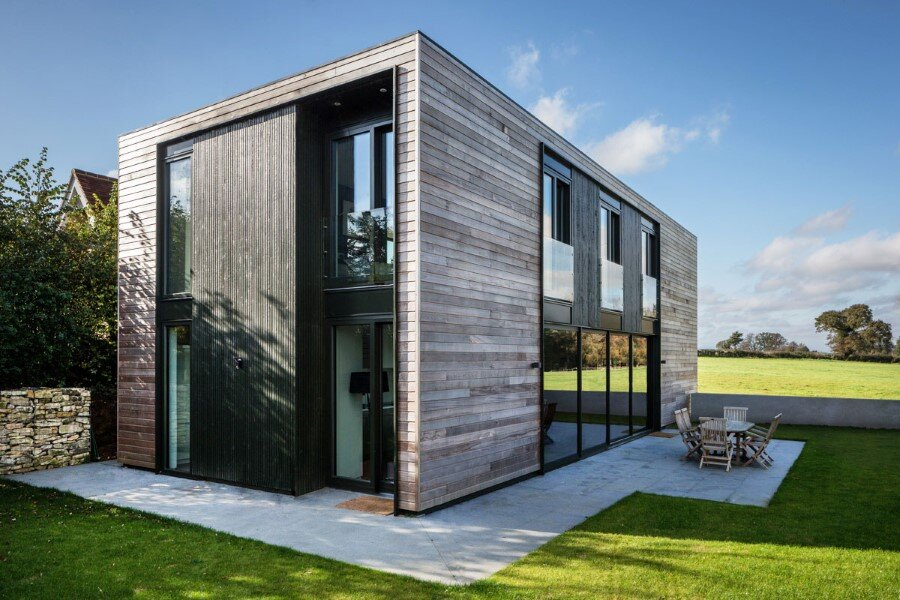 Flat Packed Panels Home In The Countryside Near Oxford