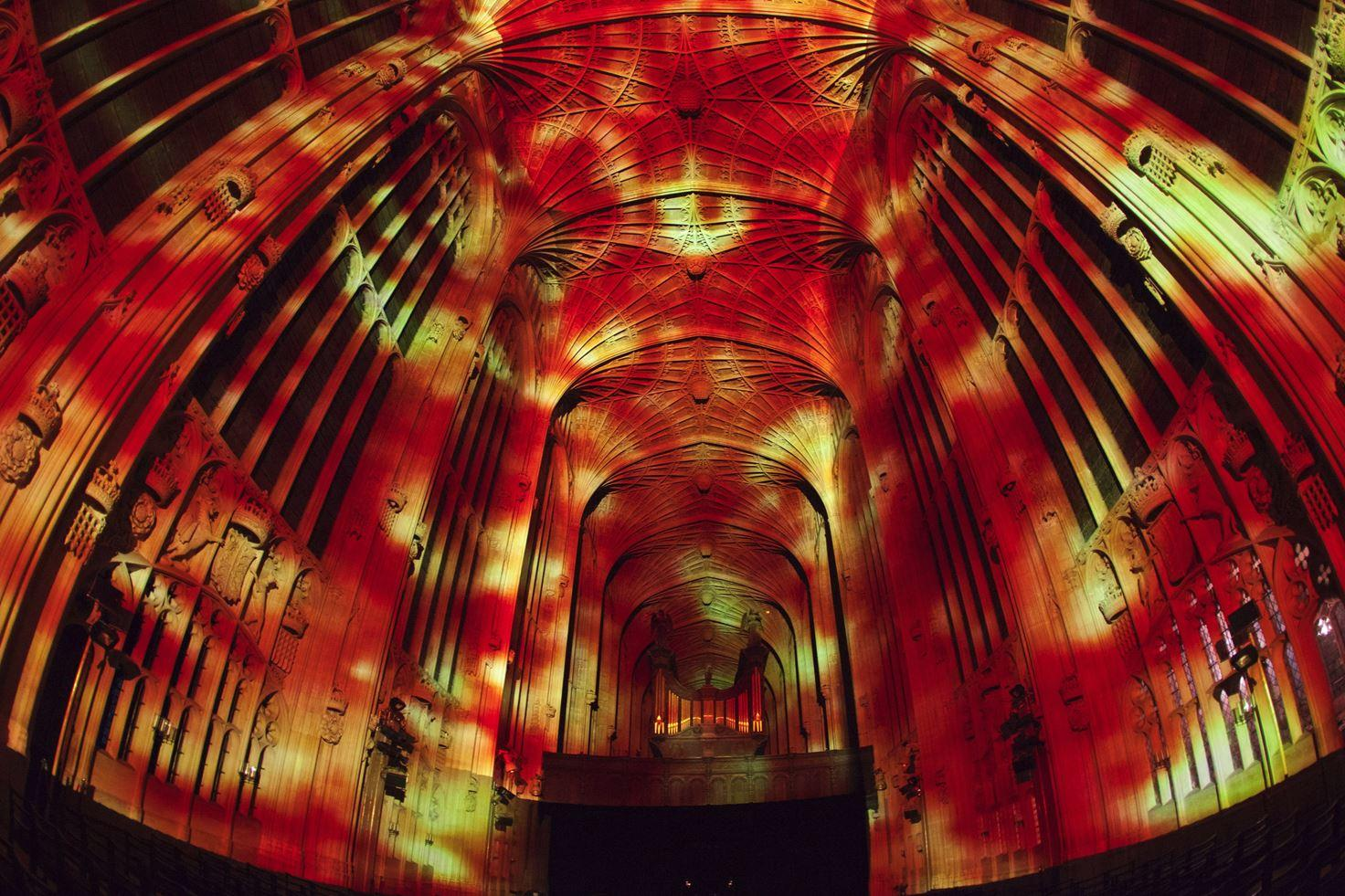 Immersive Projections in King's College Chapel, University of Cambridge (10)