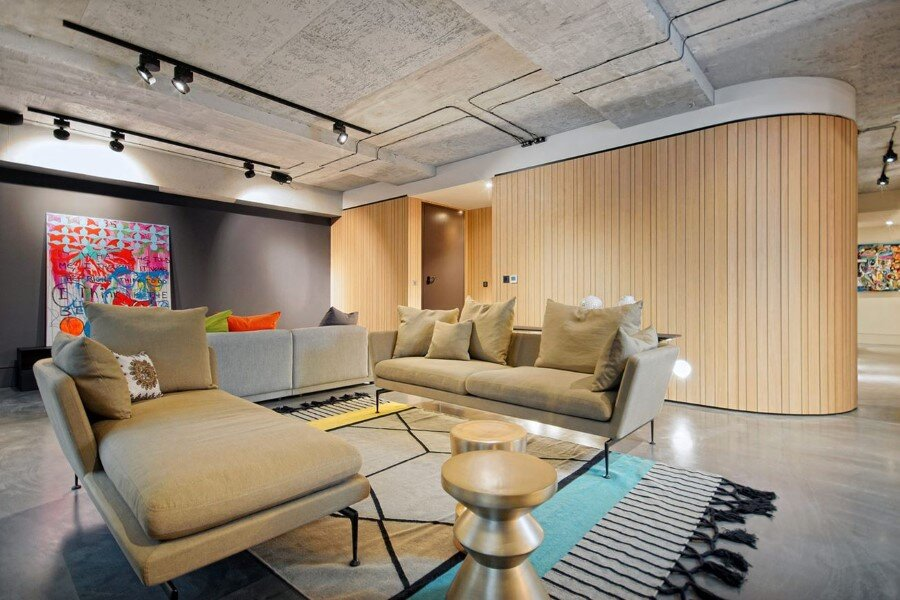 Industrial Warehouse Conversion at Ransome's Dock in London (13)