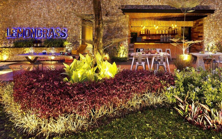 Lemongrass Restaurant Has a Modern Tropical Architecture (8)