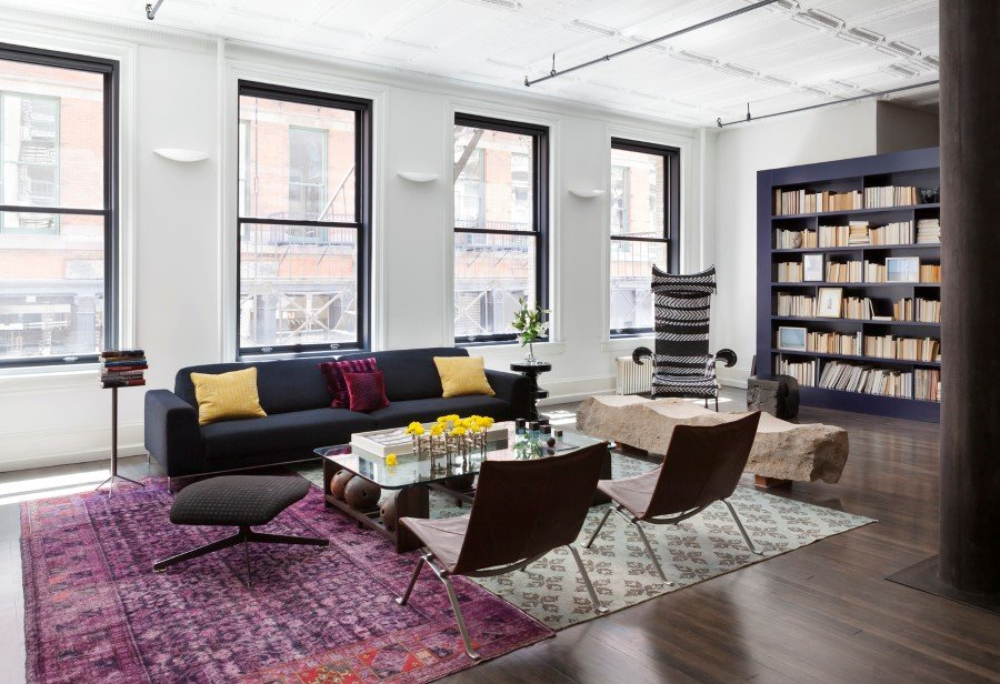 Mercer Street Loft - celebrates both classic, historical elements and modern twists