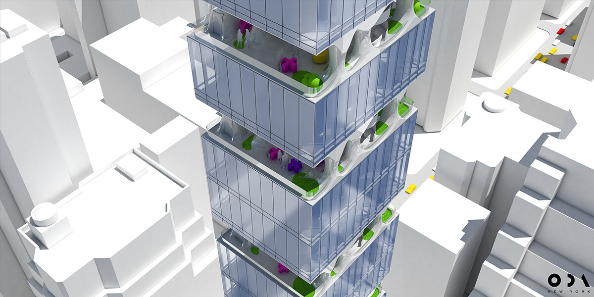 ODA Architecture Proposes An Ultra-Slender Residential Tower in Manhattan (8)