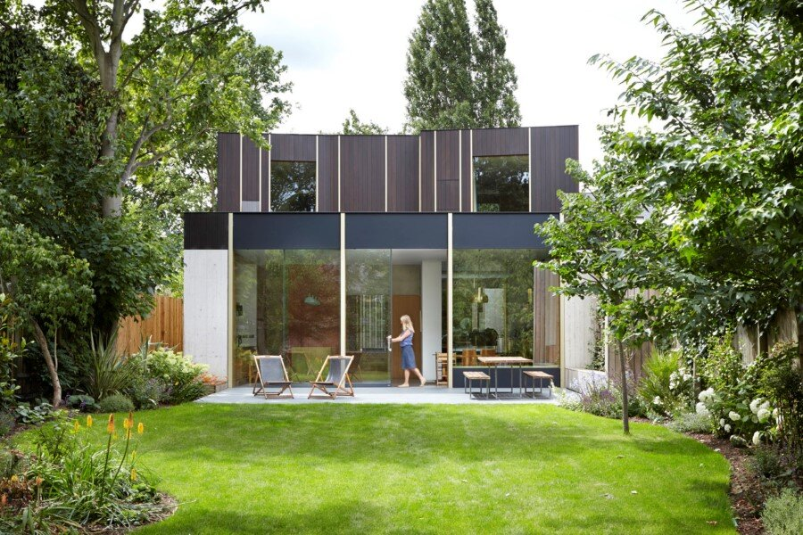 Pear Tree House in South London by Edgley Design