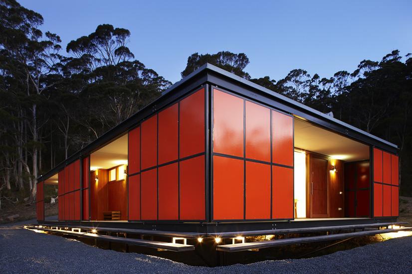 Premaydena House is designed as 'a box inside a box' (5)