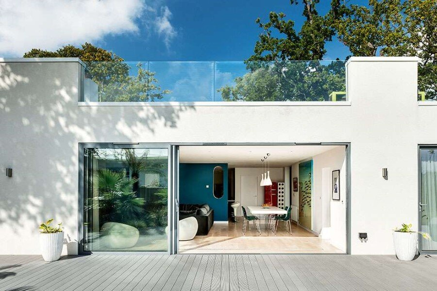 Remodeled 1930s Bauhaus Bungalow in a Stylish Contemporary Home